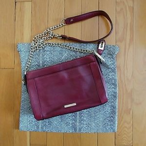 Rebecca Minkoff Oxblood Leather Crossbody